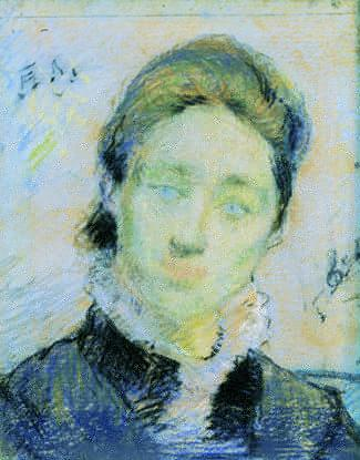 Portrait of Charlotte Flensborg - Paul Gauguin