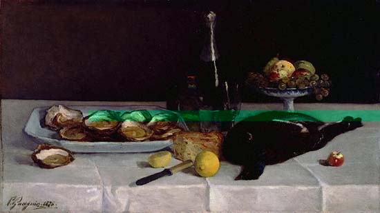 Still Life with oysters Paul Gauguin