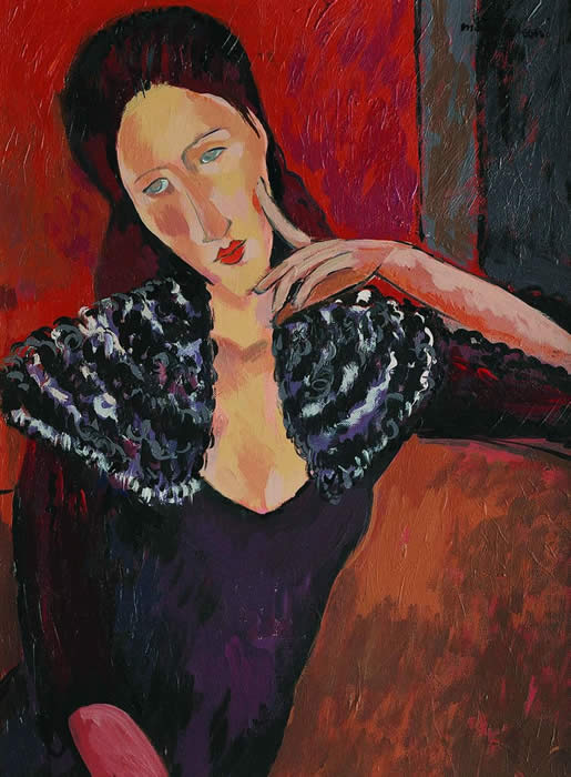 Modigliani Fake by John Myatt