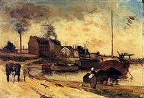 Cail Factories and Quai de Grenelle) Paul Gauguin