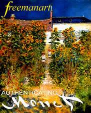Claude Monet art authentication