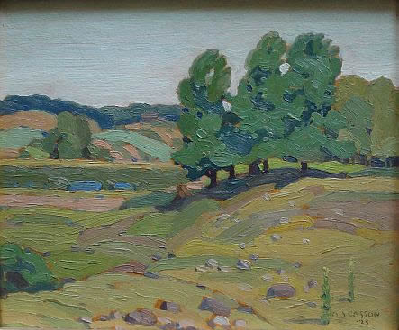 A J Casson Group of Seven painting