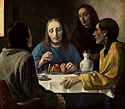 Van Meegeren forgery. Disciples at Emmaus