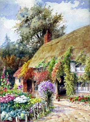 k howitt british artist watercolour artist painting