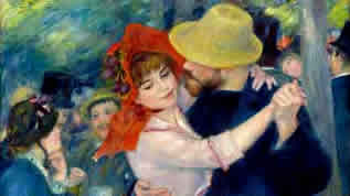 Fake Renoir painting by Tom Keating