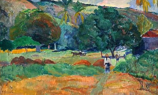 Three cows. Paul Gauguin 1884