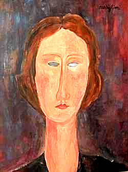 Fake Modigliani for sale on Ebay