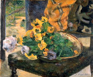 Pour faire un bouquet. Paul Gauguin