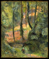 Forest Interior/ Sous-Bois - Paul Gauguin