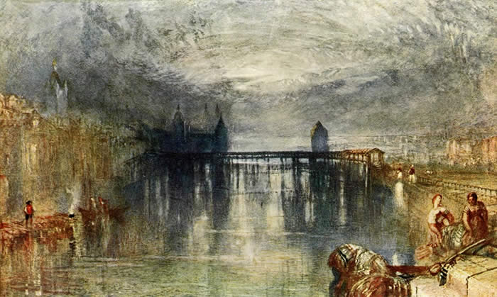 turner landscape paintings